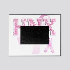 HNX initials, Pink Ribbon, Picture Frame