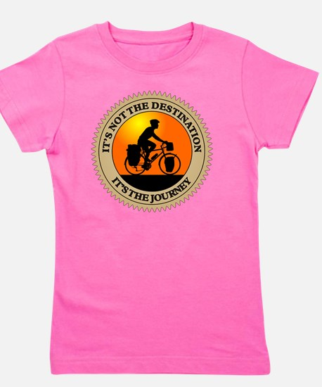 Its The Journey Girl's Tee