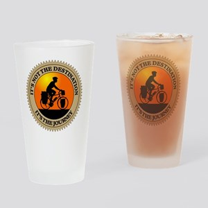 Its The Journey Drinking Glass