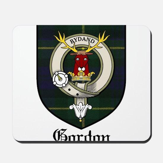 Gordon Clan Crest Tartan Mousepad