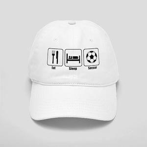Eat Sleep Soccer BLK Cap