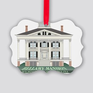 Bellamy Mansion Picture Ornament