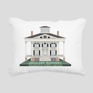 Bellamy Mansion Rectangular Canvas Pillow