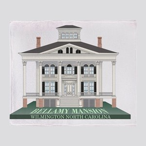 Bellamy Mansion Throw Blanket