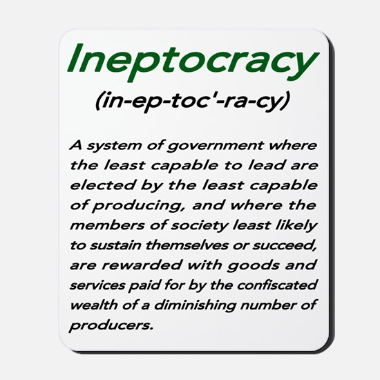 INEPTOCRACY Mousepad