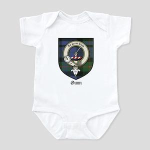 Gunn Clan Crest Tartan Infant Bodysuit