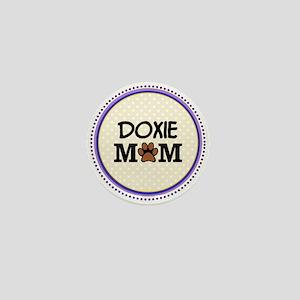 Doxie Dog Mom Mini Button