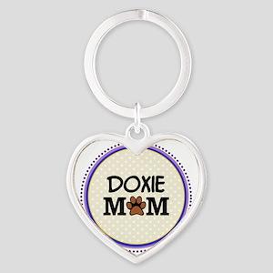 Doxie Dog Mom Keychains