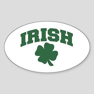 Irish Oval Sticker