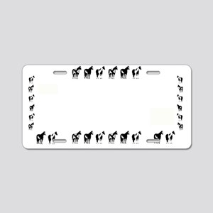 Paint Spotted Horse License Aluminum License Plate