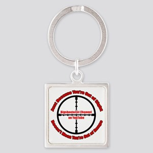 Bigshooter Transparency Square Keychain