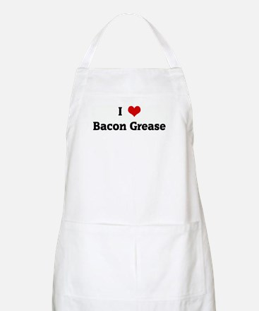 I Love Bacon Grease BBQ Apron