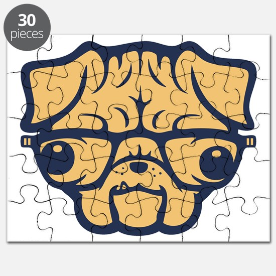 pug-glasses-T Puzzle