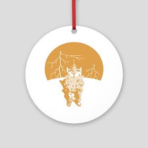 elec-chair-LTT Round Ornament