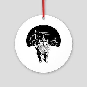 elec-chair-DKT Round Ornament