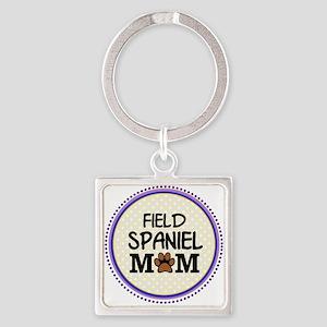 Field Spaniel Dog Mom Keychains