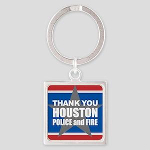 Thank You Houston Keychains