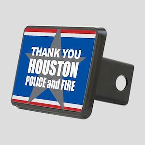 Thank You Houston Rectangular Hitch Cover