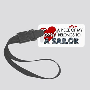 Piece of my heart Sailor Small Luggage Tag