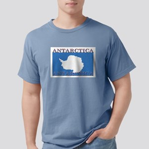 Antarctica Flag Ash Grey T-Shirt