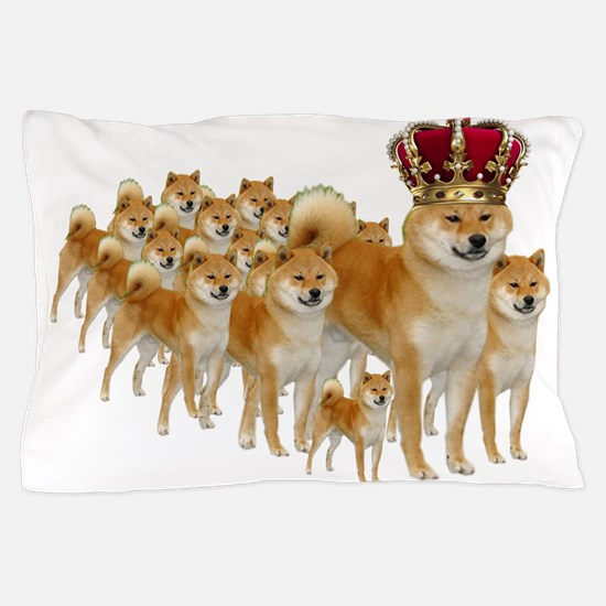 Cute Shiba inus Pillow Case