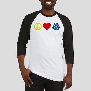Peace, Love & Vinyl Baseball Jersey