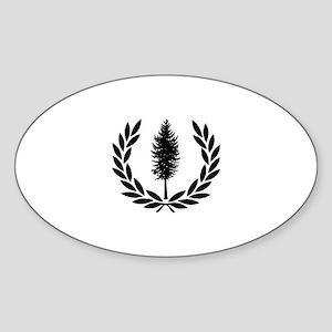 Cascadia Seal Sticker (Oval)
