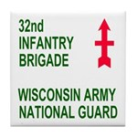 32nd Infantry Brigade Coffee Coaster