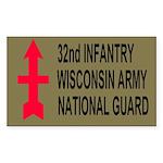32nd Infantry Brigade <BR>Sticker 2