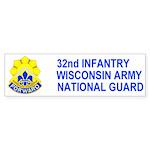 32nd Infantry Brigade <BR>Bumper Sticker