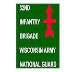 32nd Infantry Brigade<BR>Postcards (8)