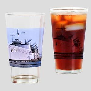 kalamazoo framed panel print Drinking Glass