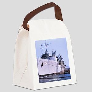 kalamazoo framed panel print Canvas Lunch Bag