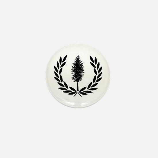 Cascadia Seal Mini Button