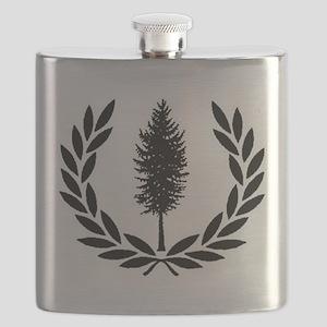 Cascadia Seal Flask