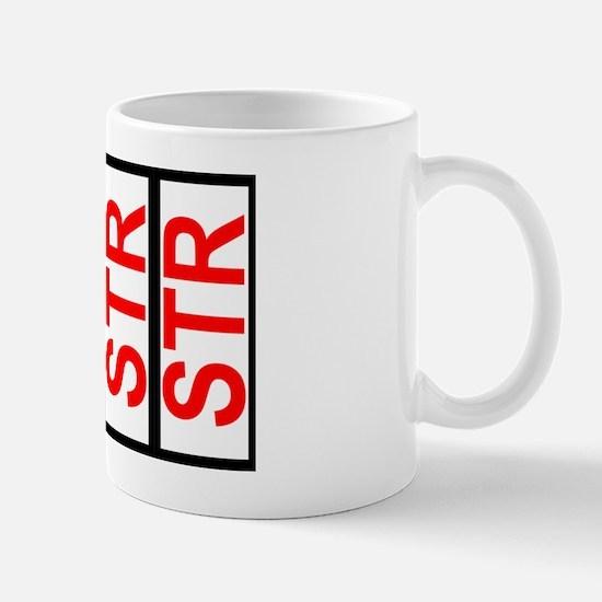 STR SCCA Solo Class Plates Car Magnet 2 Mug