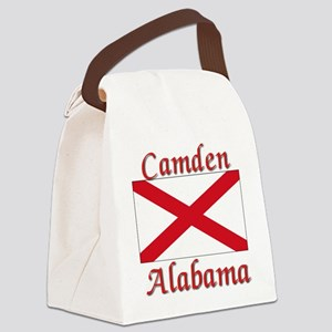 Camden Alabama Canvas Lunch Bag