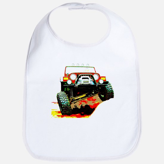Jeep rock crawling Bib