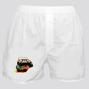 Jeep rock crawling Boxer Shorts