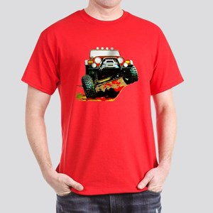 Jeep rock crawling Dark T-Shirt