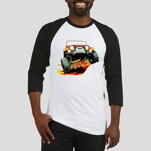Jeep rock crawling Baseball Jersey