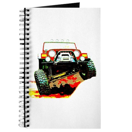 Jeep rock crawling Journal