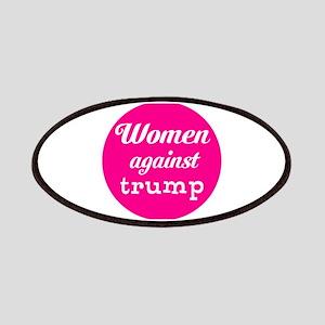 Woman against trump Patch