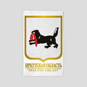 Irkutsk Oblast COA 3'x5' Area Rug