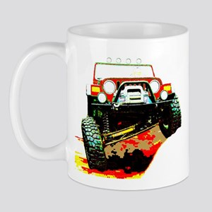 Jeep rock crawling Mug