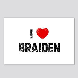 I * Braiden Postcards (Package of 8)