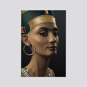 9X12-Sml-framed-print-Nefertiti Rectangle Magnet
