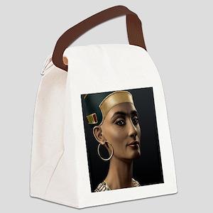 9X12-Sml-framed-print-Nefertiti Canvas Lunch Bag