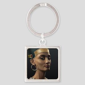 16X20-Small-Poster-Nefertiti Square Keychain