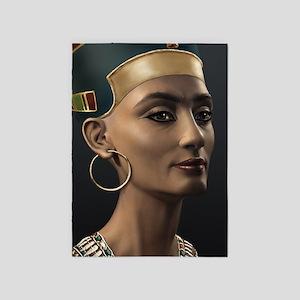 23X35-LG-Poster-Nefertiti 5'x7'Area Rug